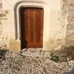 Nouvelle porte entée après restauration
